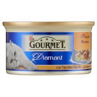 Purina, gatto Gourmet Diamant gatto Sfilaccetti con tacchino saporito lattina