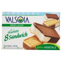 Valsoia Bontà e Salute il Gelato 8 Sandwich