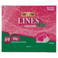 Lines, Intervallo Velo Slip proteggi-slip distesi