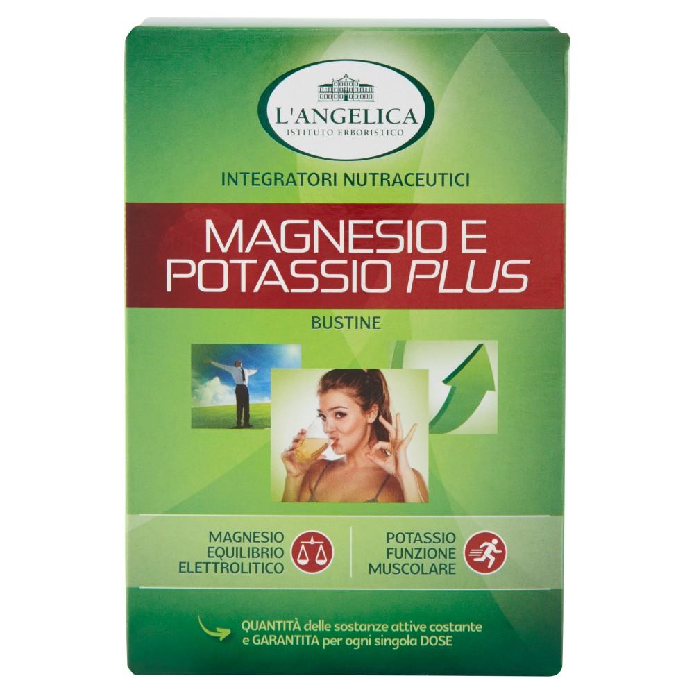 L'Angelica, Nutraceutica magnesio e potassio plus 20 bustine
