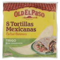 Old El Paso, tortillas Mexicanas de trigo