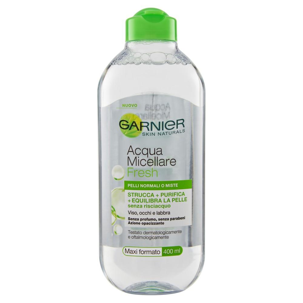 Garnier, Skin Naturals Fresh acqua micellare pelli normali e miste