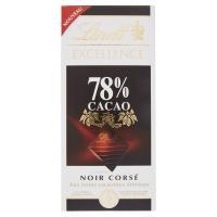 Lindt, Excellence 78% cacao noir corsè