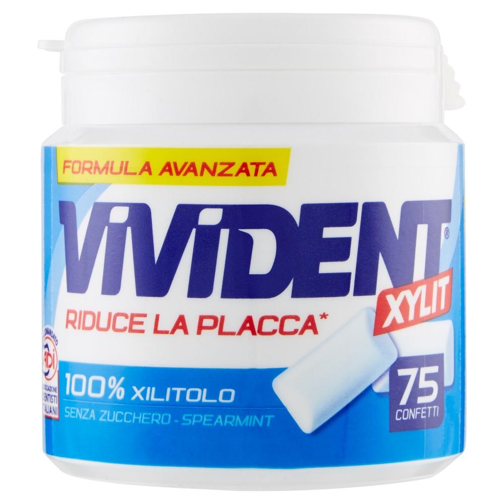 Vivident Xylit spearmint 75 confetti