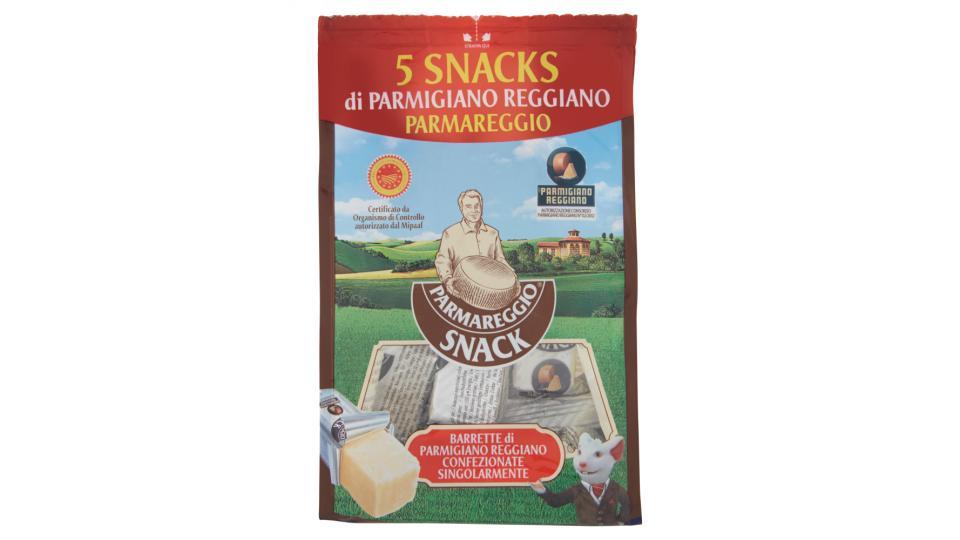 Parmareggio Snack 5 Snacks di Parmigiano Reggiano DOP