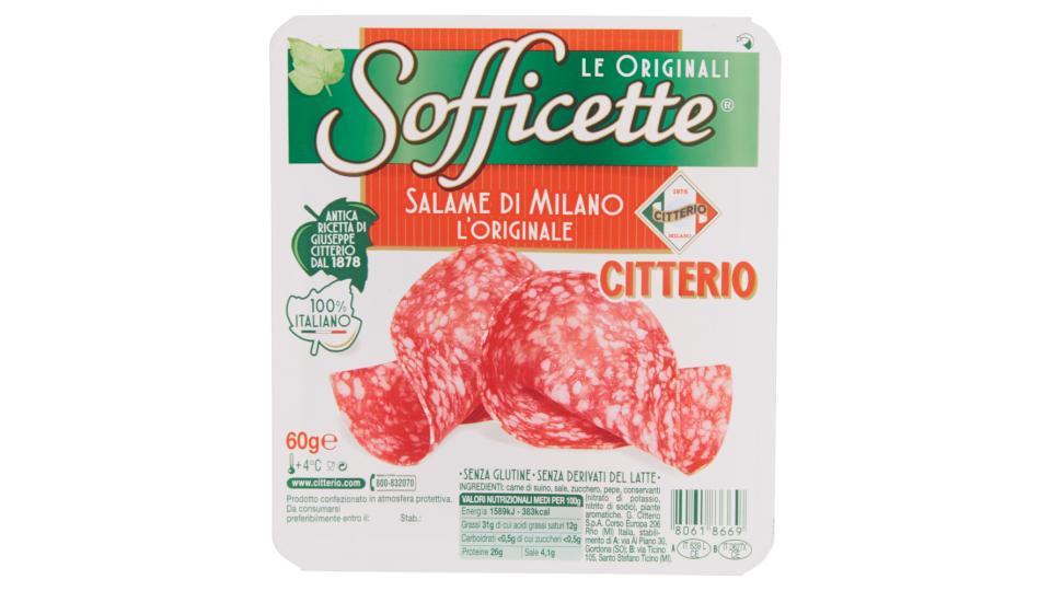 Citterio - Sofficette l'originale Salame di Milano