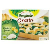 Bonduelle, Gratin patate e spinaci surgelato