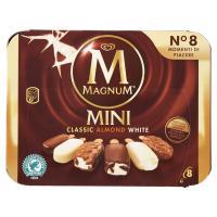 Magnum, Mini Classic almond white