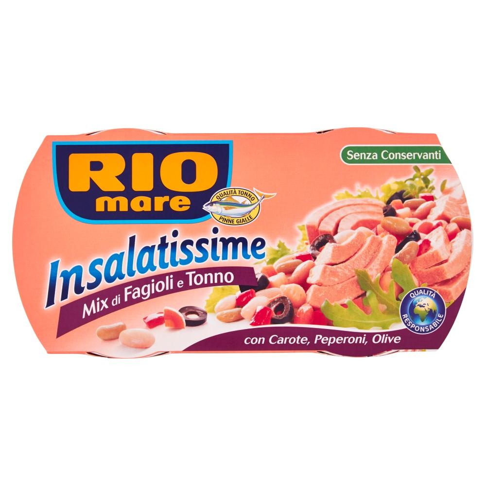 Rio Mare, Insalatissime mix di fagioli e tonno