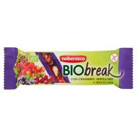 noberasco Bio break con Cranberry, Mirtilli Neri e Semi di Chia