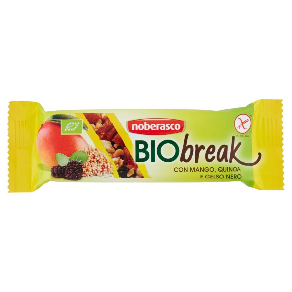 noberasco Biobreak con Mango, Quinoa e Gelso Nero