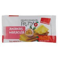 EuroCompany Semplicemente Frutta Ananas Maracujà due barrette a base di frutta essiccata