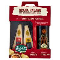Ferrari Grana Padano Oltre 10 Mesi e Riserva Oltre 20 Mesi 400 g + Birra Ambrata