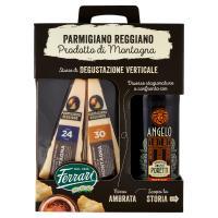 Ferrari Parmigiano Reggiano Prodotto di Montagna 400 g + Birra Ambrata