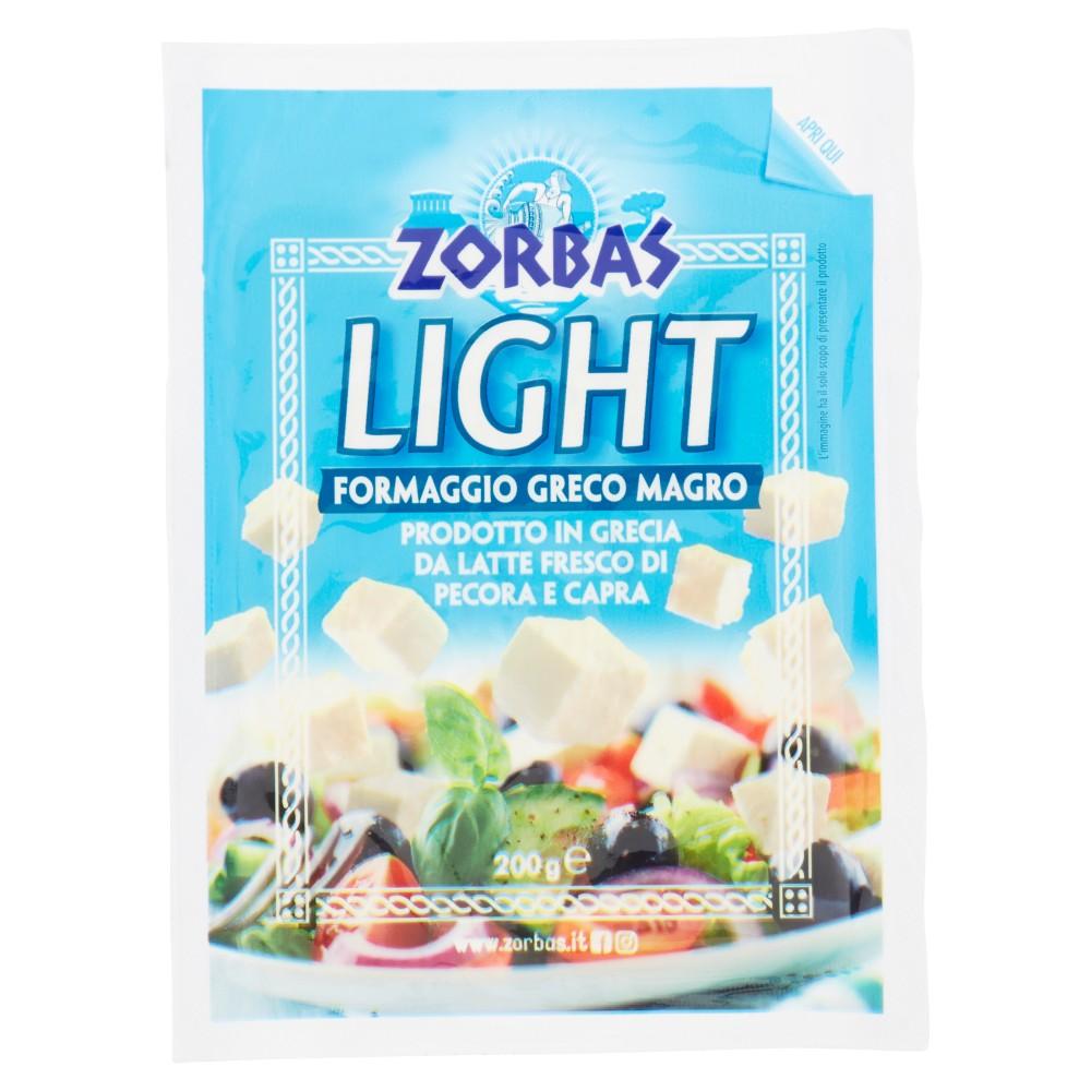Zorbas Light Formaggio Greco Magro