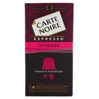 Carte Noire Espresso Intense Intensité N°9 10 Capsule