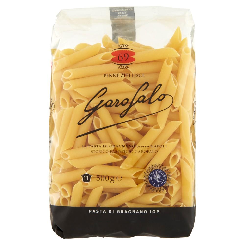 Garofalo - Penne Ziti Lisce, Pasta Di Semola Di Grano Duro