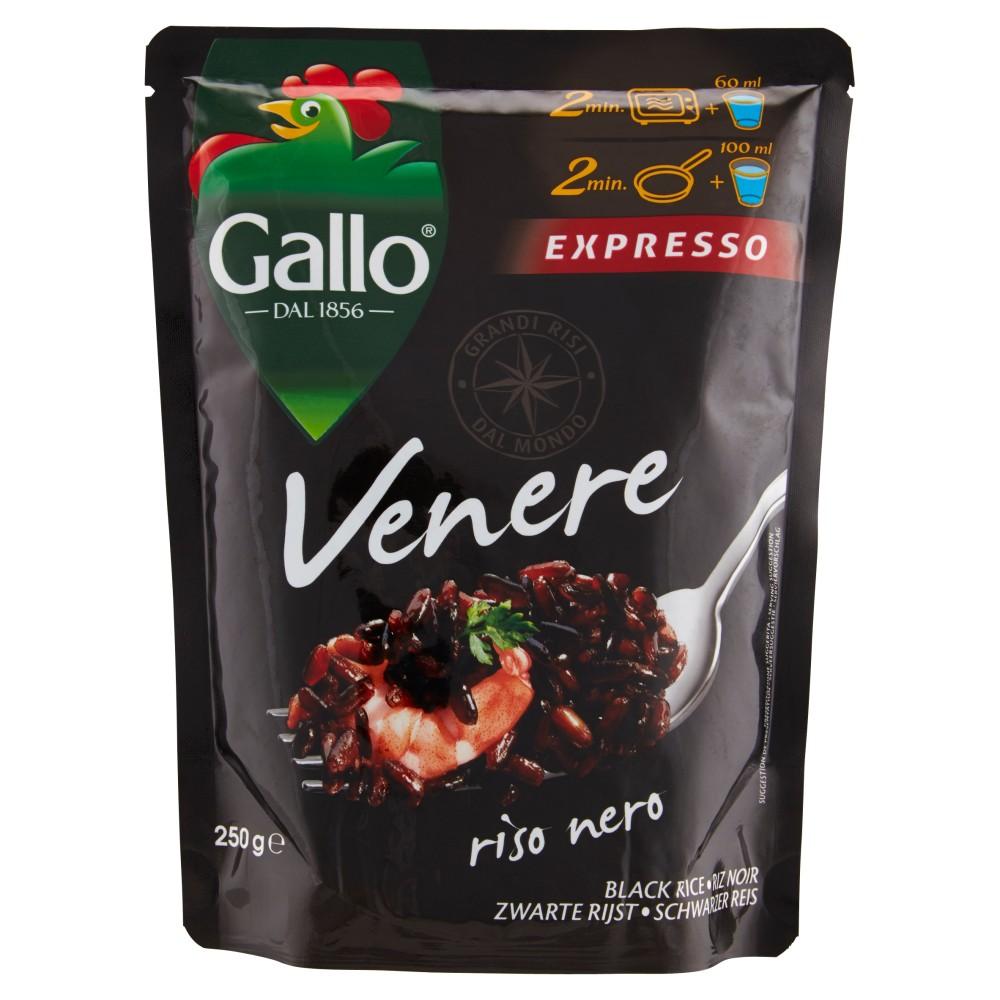 Gallo Expresso Venere riso nero