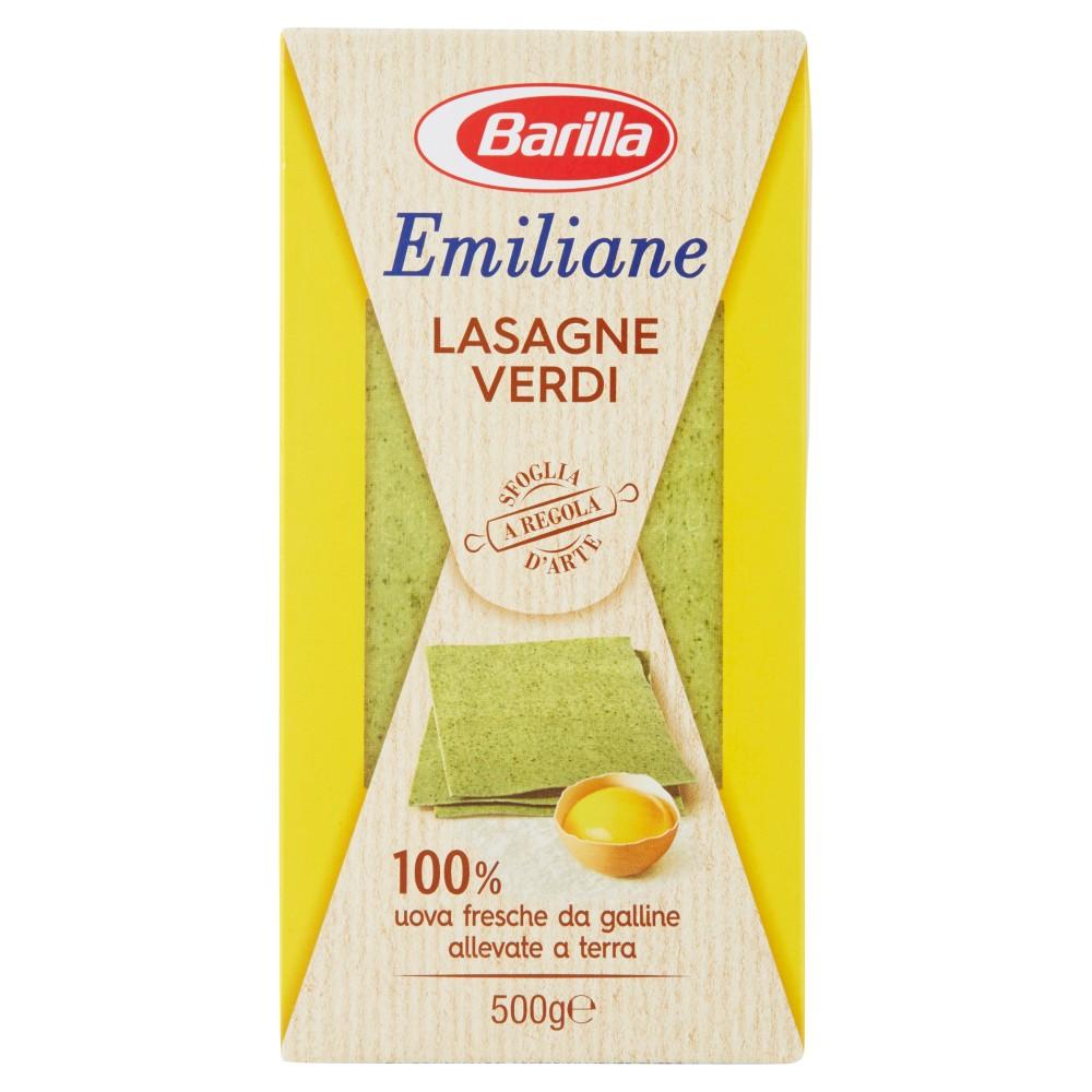 Barilla Emiliane Lasagne Verdi