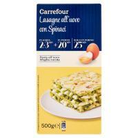 Carrefour Lasagne all'uovo con Spinaci