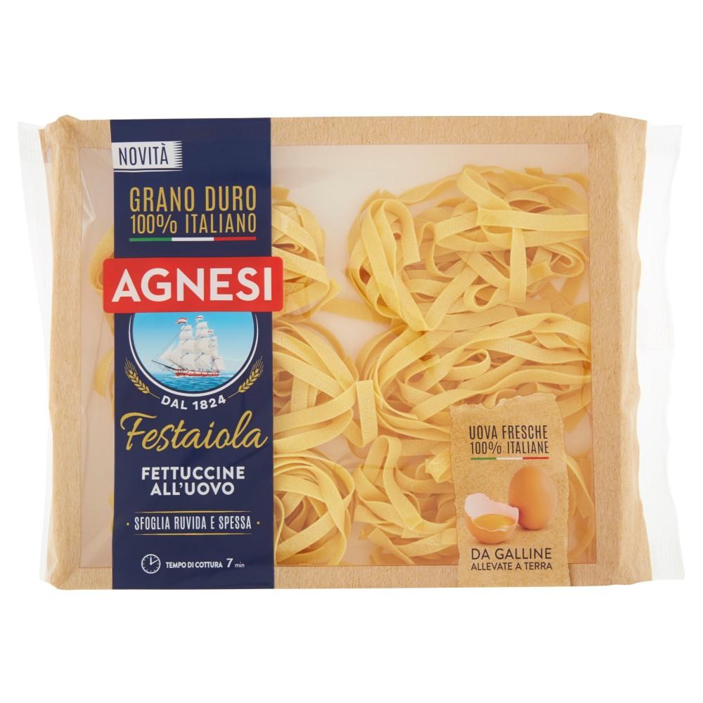 Agnesi Festaiola le fettuccine all'uovo