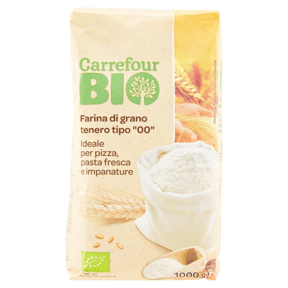 """Carrefour Bio Farina di grano tenero tipo """"00"""""""