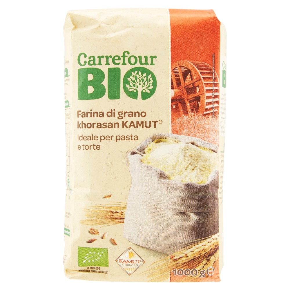 Carrefour Bio Farina di grano khorasan Kamut