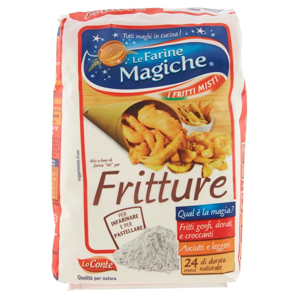 """Le Farine Magiche Mix a base di farina """"00"""" per Fritture"""