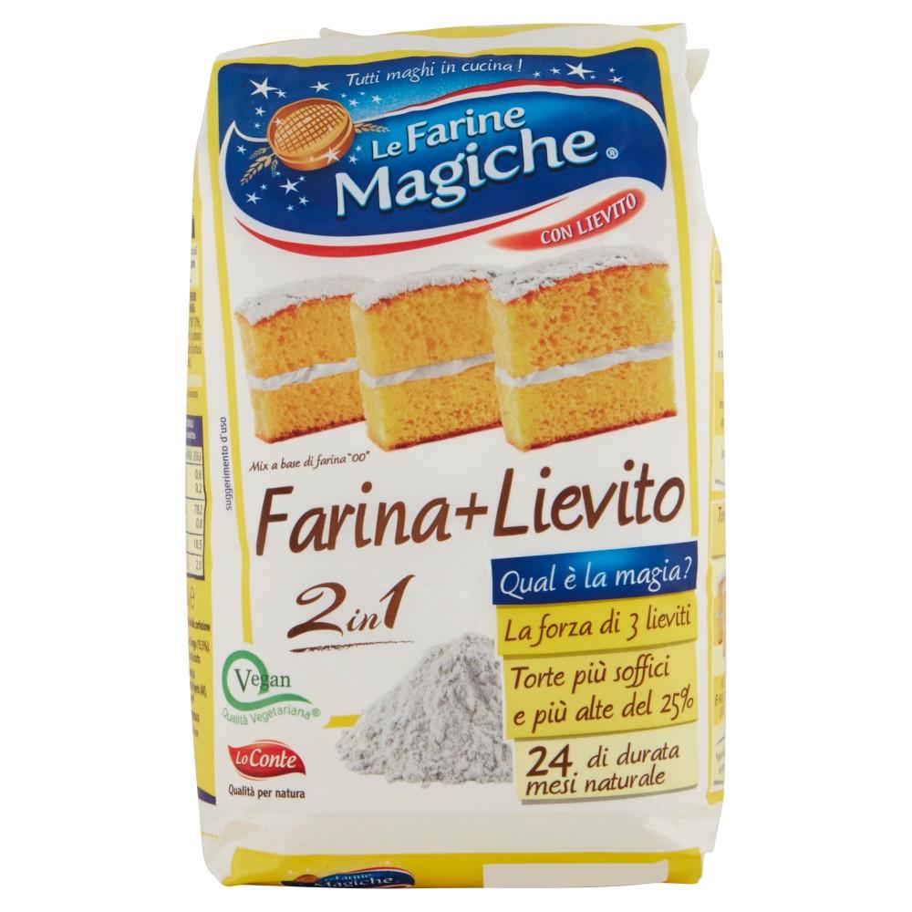 """Le Farine Magiche Mix a base di Farina """"00"""" Farina+Lievito"""