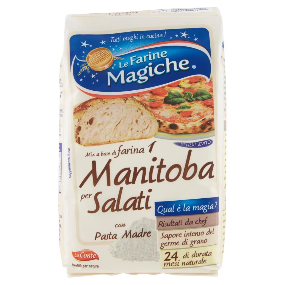 Le Farine Magiche Mix a base di farina 1 Manitoba per Salati
