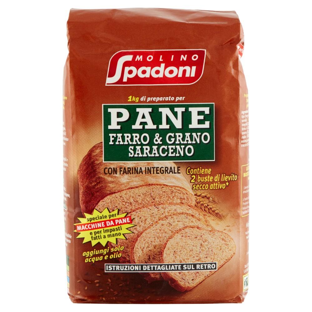 Molino Spadoni Pane farro & grano saraceno