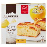 Alpeker Torta di Mele 2 Fette Congelati