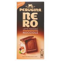 NERO PERUGINA Latte Nocciole Tavoletta di cioccolato al latte con granella di nocciole