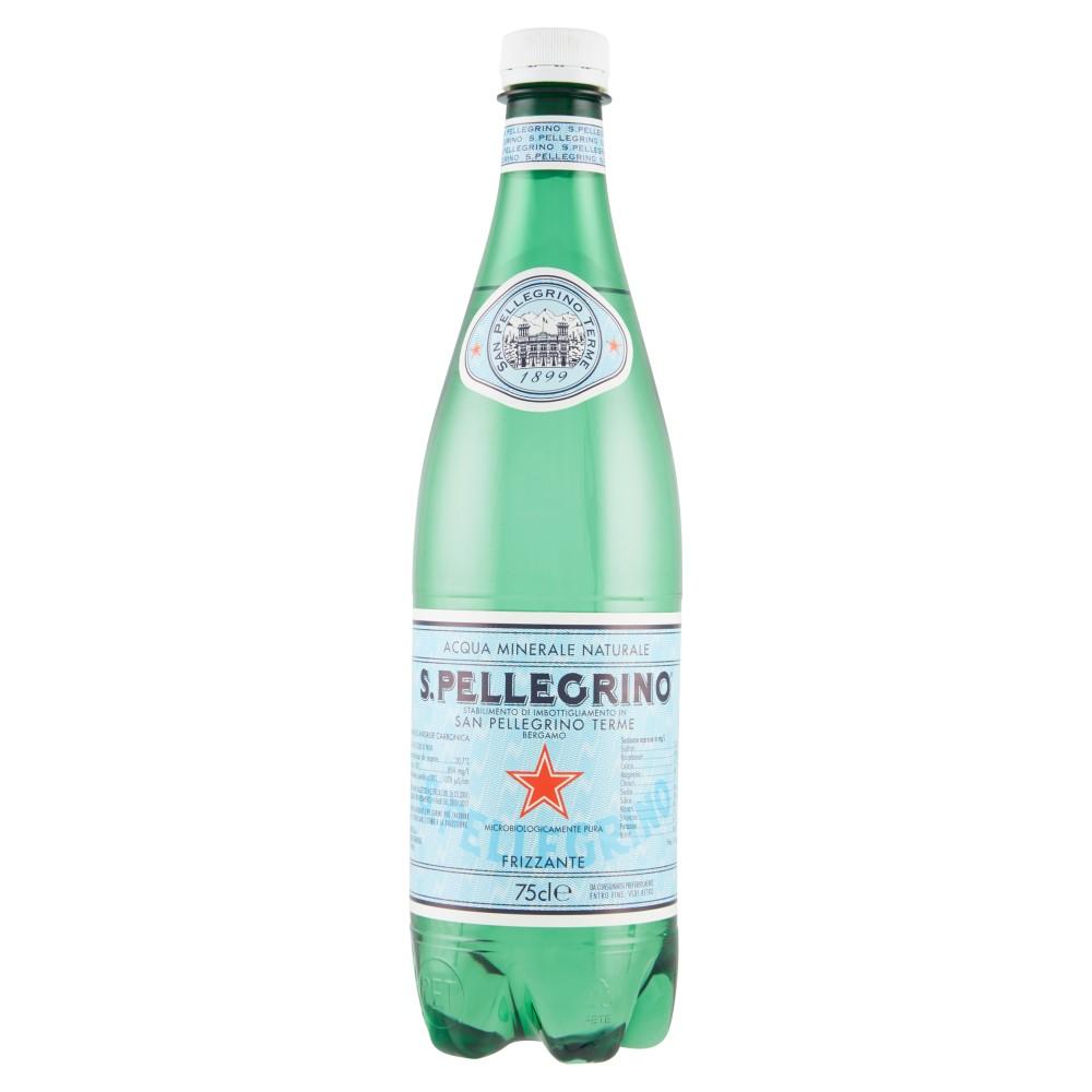 S. PELLEGRINO, Acqua Minerale Naturale Frizzante