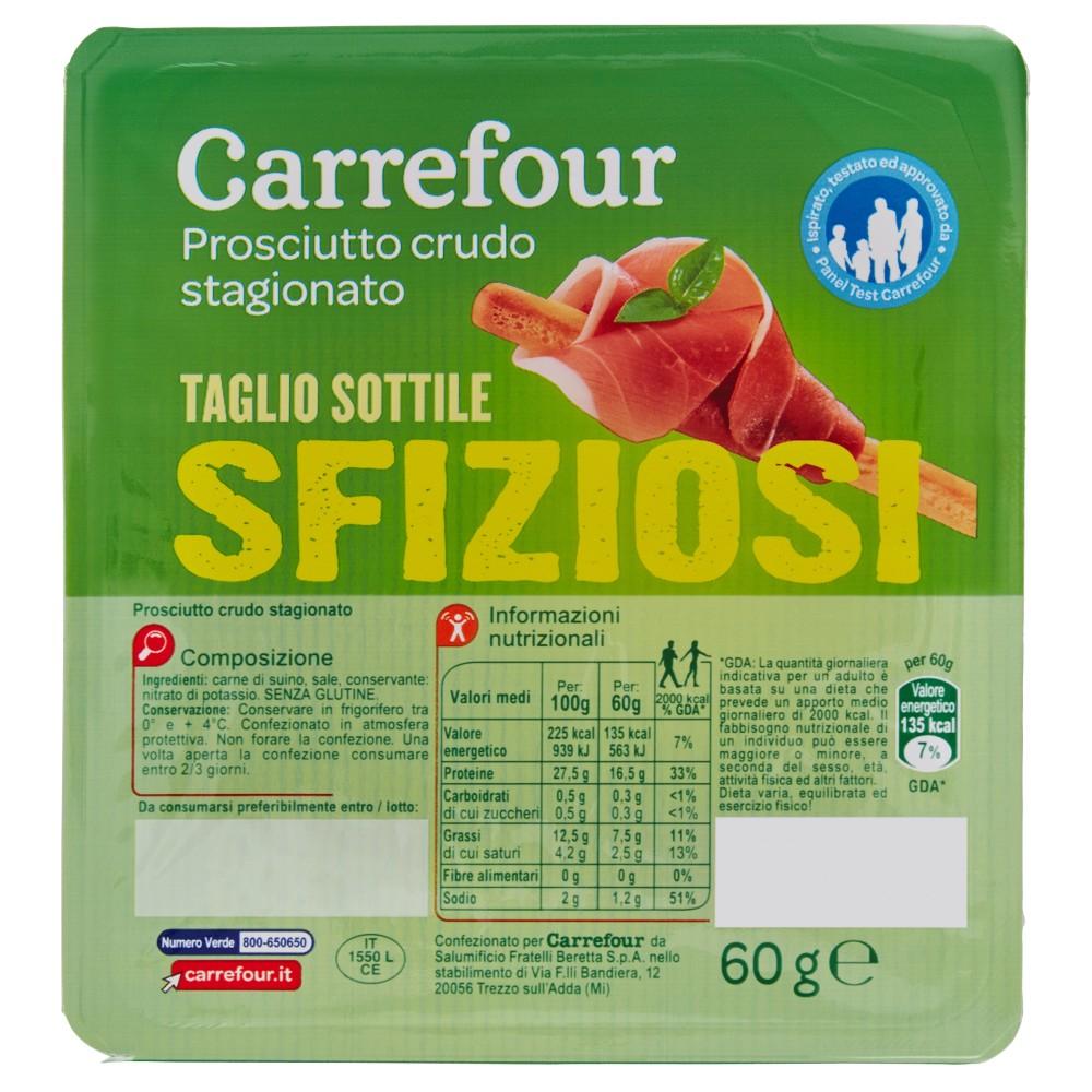 Carrefour Sfiziosi Prosciutto crudo stagionato