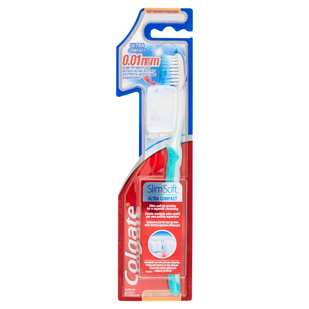 Colgate Slim Soft Ultra Compact Morbido Spazzolino