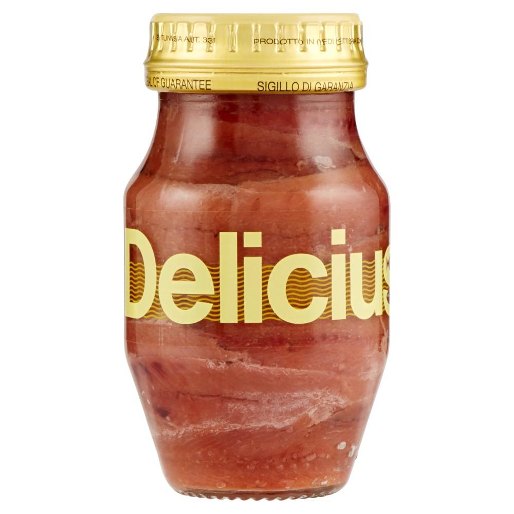 Delicius Filetti di Alici in olio di oliva (41%)