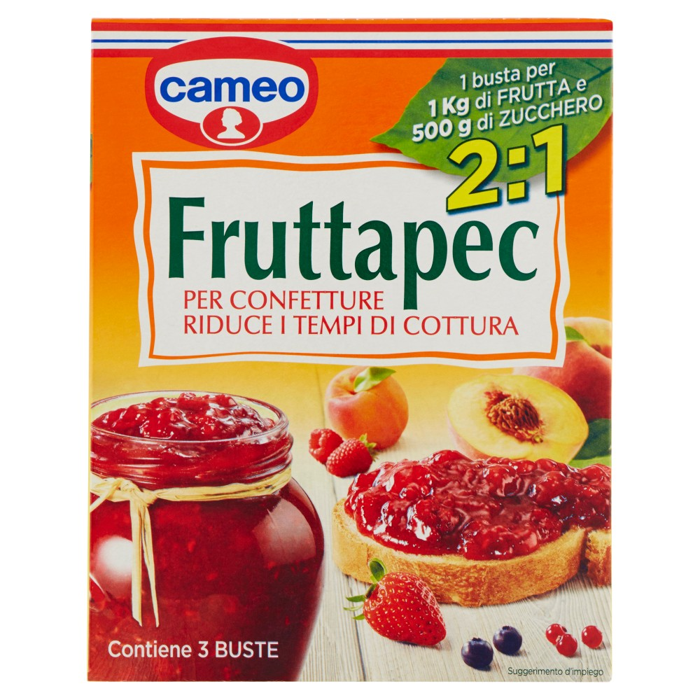 Cameo fruttapec 2:1 3pezzi