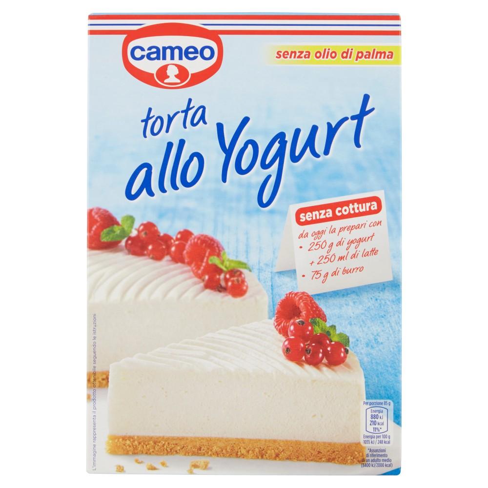 cameo torta allo yogurt