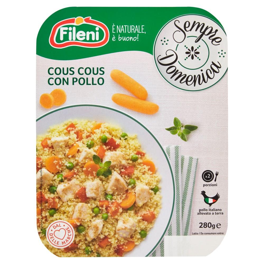 Cous Cous Pollo con Verdure