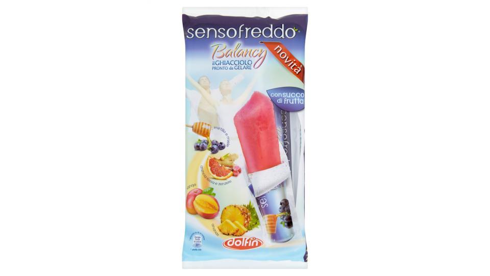 Sensofreddo Balancy ananas - mango - arancia rossa e zenzero - mirtillo e miele