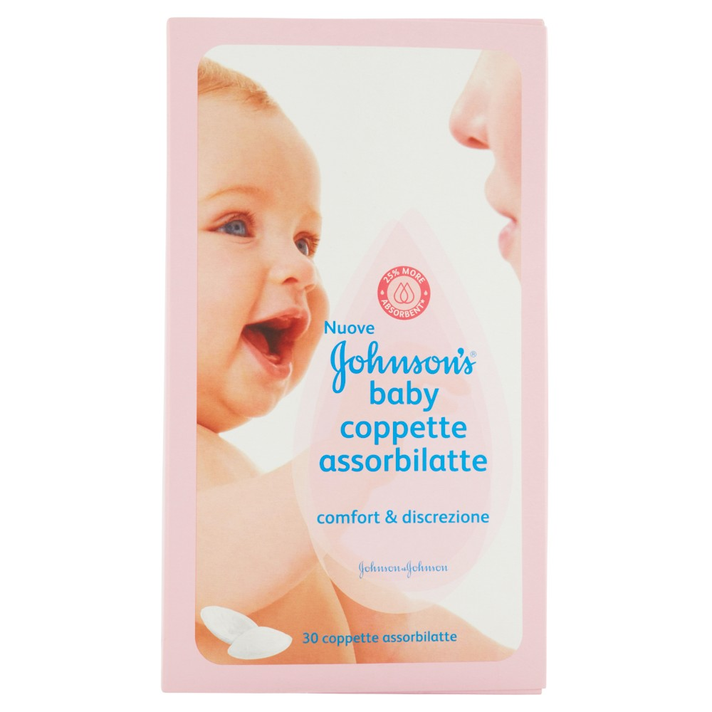 Johnson's Baby Coppette assorbilatte