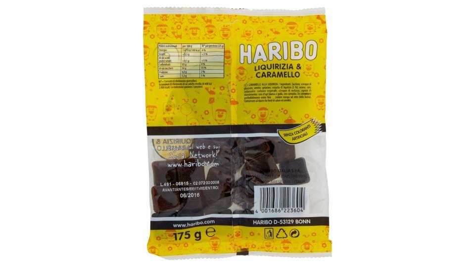 Haribo Liquivizia soft liquirizia & caramello