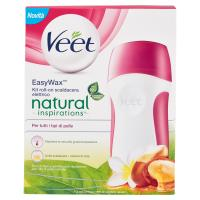 Veet EasyWax Kit roll-on scaldacera elettrico natural inspirations