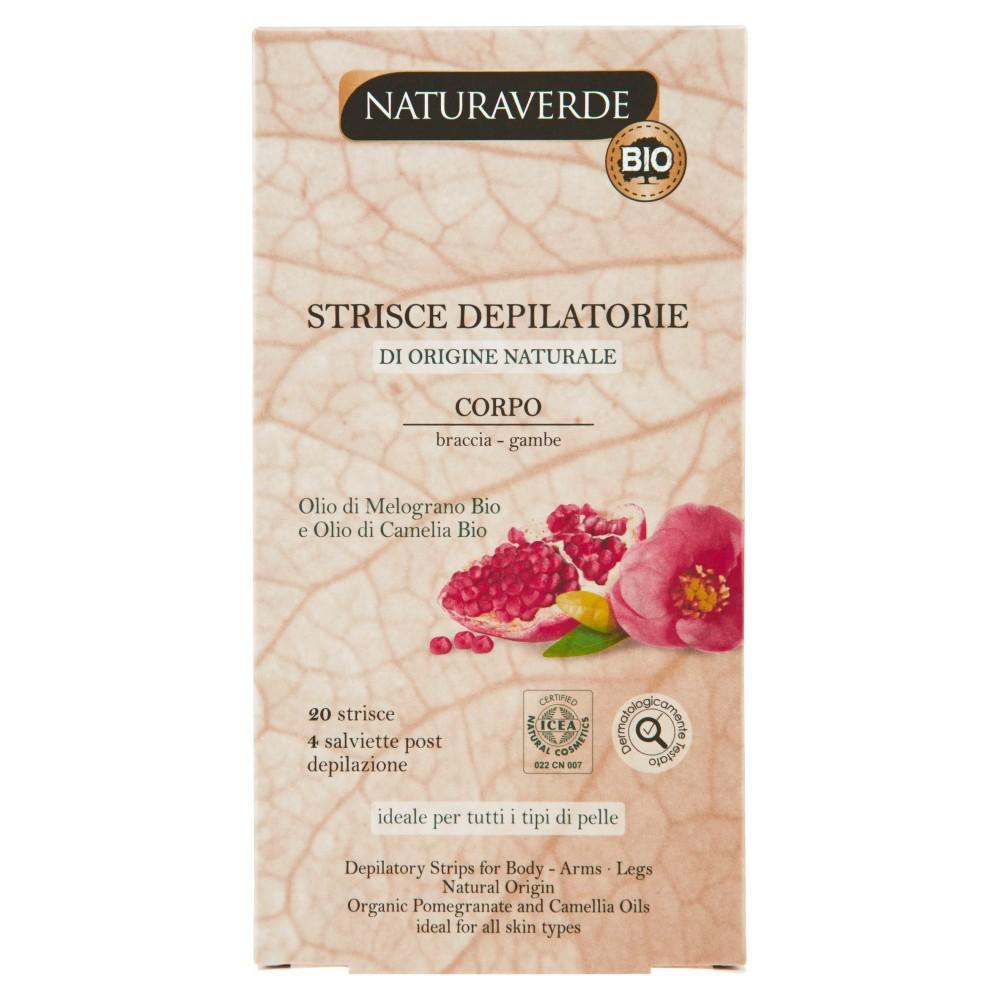 Naturaverde Bio Strisce Depilatorie Corpo braccia - gambe
