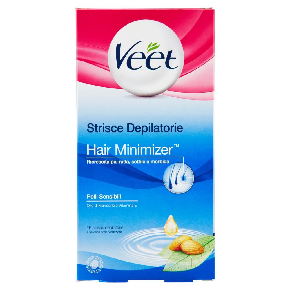 Veet Strisce Depilatorie Hair Minimizer Pelli Sensibili