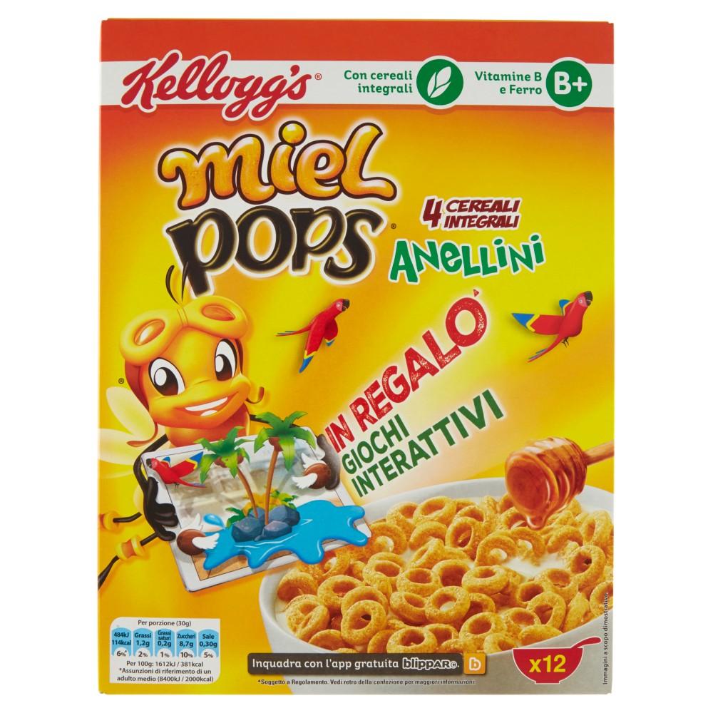 Kellogg's miel pops Anellini