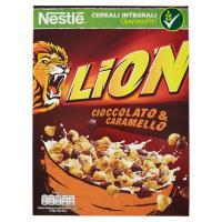 LION cereali cioccolato e caramello