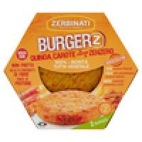 Zerbinati - Burger'Z Quinoa Carote al Profumo di Zenzero
