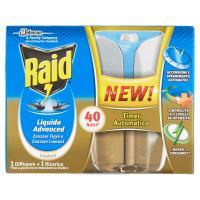 Raid Liquido Advanced Zanzare tigre e zanzare comuni 1 diffusore + 1 ricarica